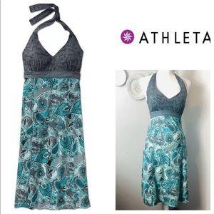 Athleta Grey Turquoise pack Everywhere Dress